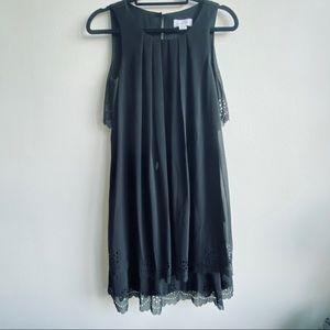 Jessica Simpson Black Laser Cut Dress